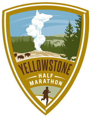 Yellowstone Half Marathon Sticker