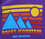 Rocky Mountain Half Retro blue Mountain Women's Tank