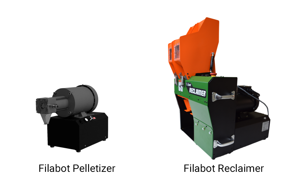 New Product Release: The Filabot Reclaimer & Filabot Pelletizer