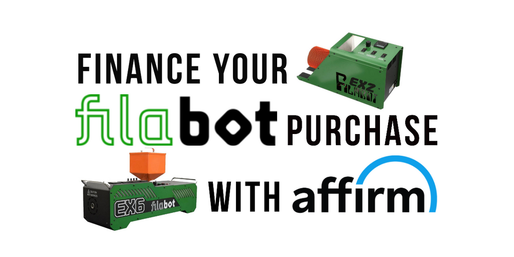 Finance Your Filabot Purchase With Affirm