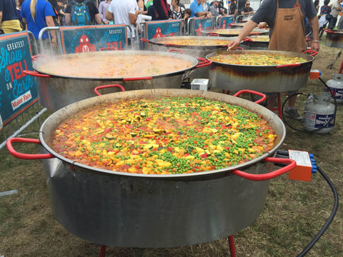 nyc 2015 maker faire paella