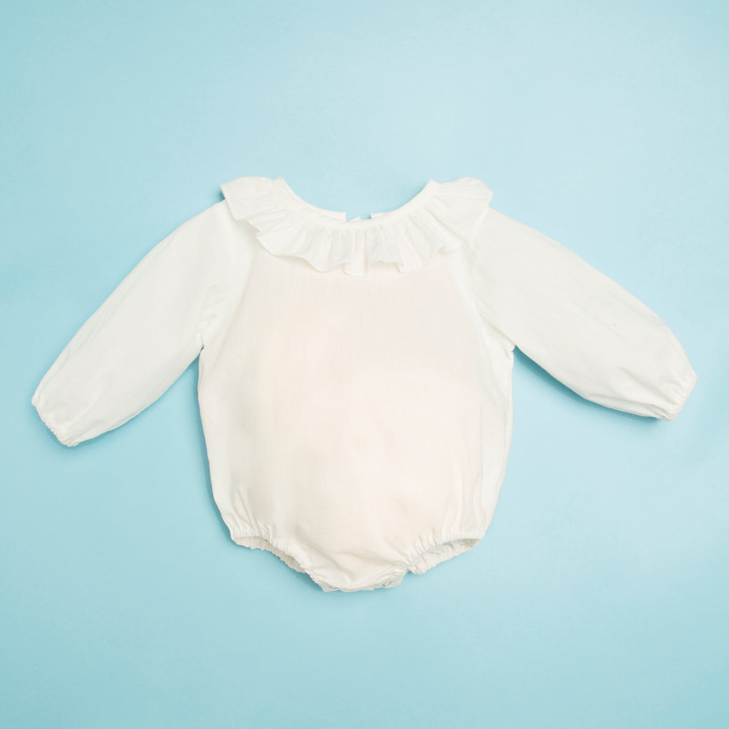Kids Ruffle Bodysuit - sizes 1m - 2years only