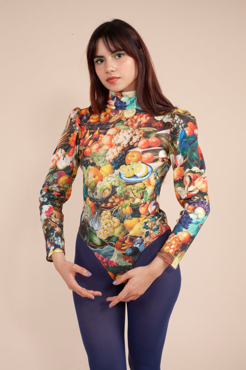 Turtle Bodysuit - XL+2X