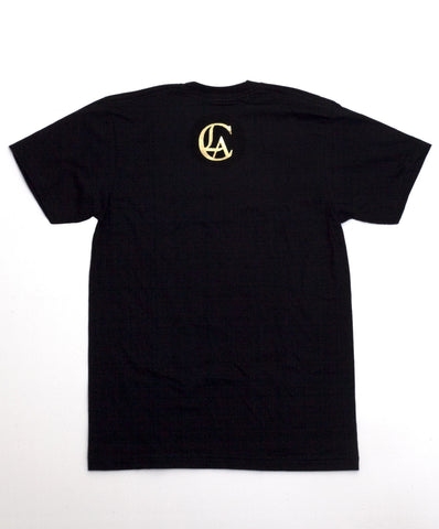 Limited Edition: College Tee Black and Gold