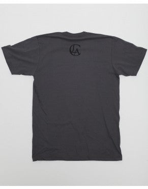 Classic Tee In Grey And Black