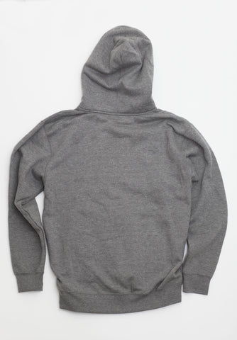 Roundel Zip-Up Grey and Black
