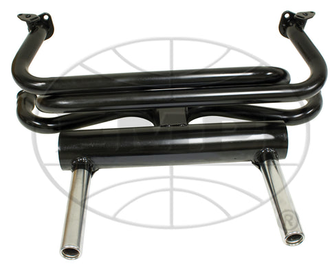 2-Tip Pea Shooter Exhaust system EMPI 3680