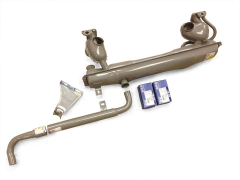 63-71 VW Bus Muffler Complete Kit