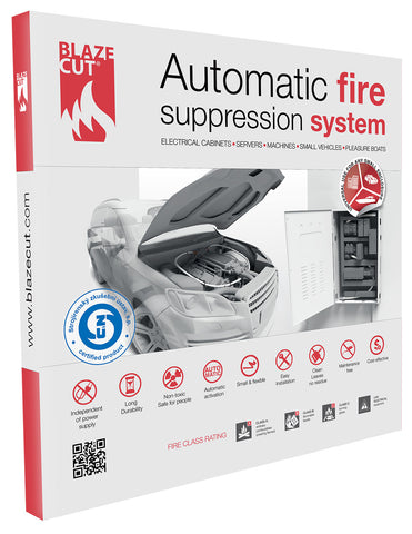 BlazeCut Fire Suppression System TV100FA, 3'