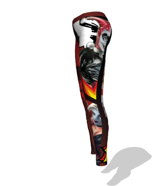 Women's Push Pull Grind Harley Quinn Leggings