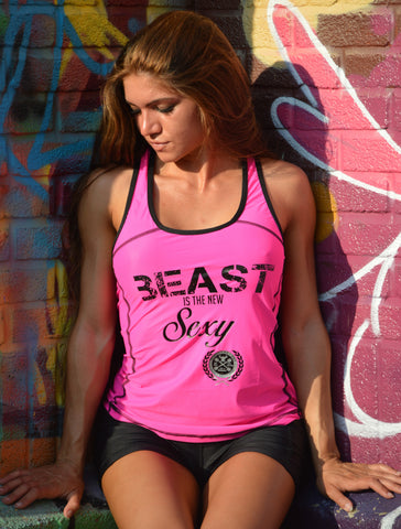 Beast is the New Sexy Racer PINK