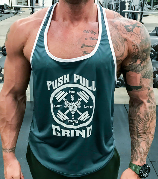 Men's Stringer tank - Phuk Politics