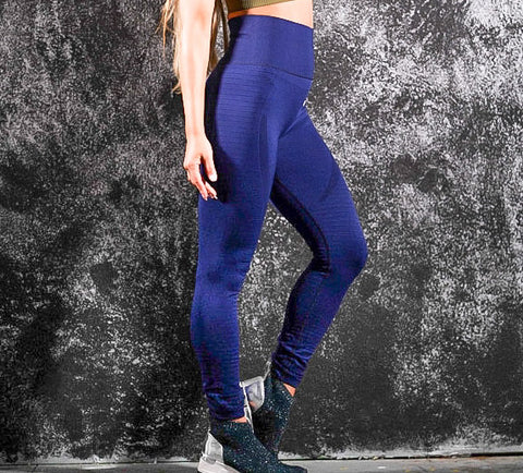 Comfy Leggings Navy Azul