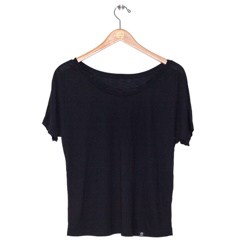 Ladies Black Tee