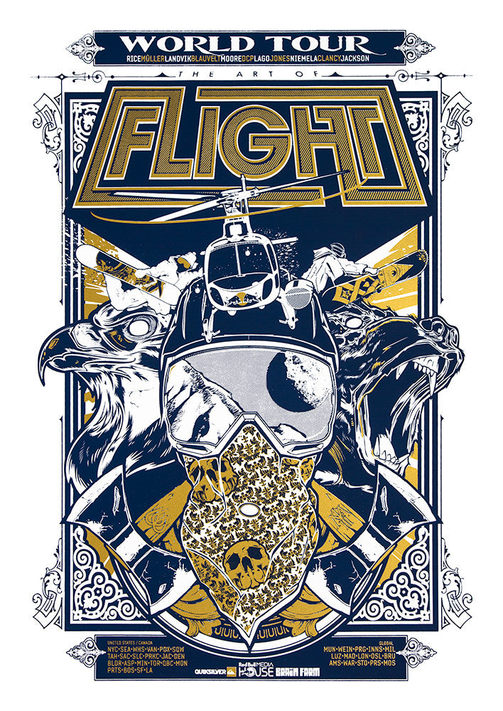 Art Of Flight Poster