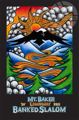 30th Annual Mt. Baker Legendary Banked Slalom Poster