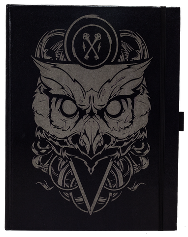 Asymbol Owl Engraved Sketchbook