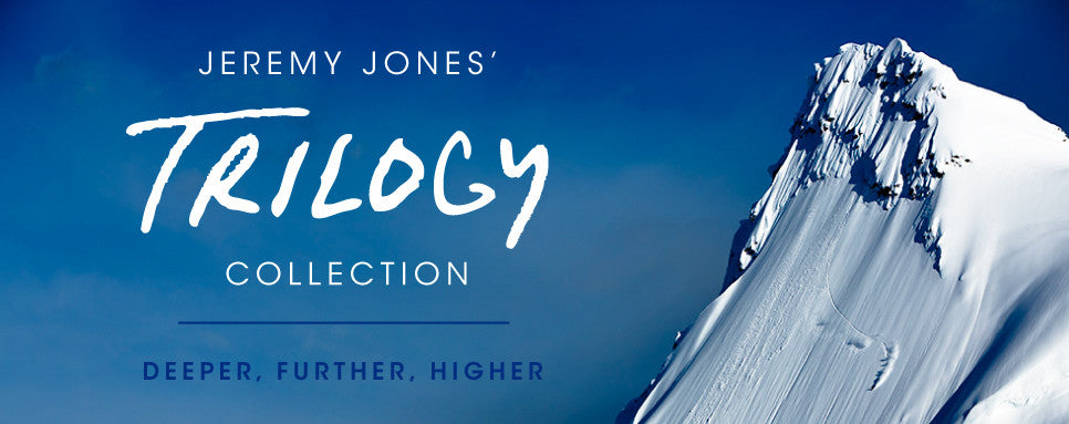 Jeremy Jones' Trilogy Collection Hero Image