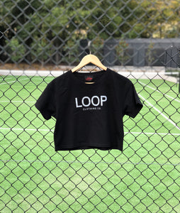 Loop Crop Top (logo of your choice)