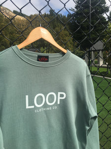 Womens Loop Crew (any loop logo)