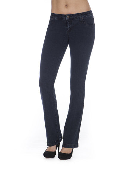 Mid Rise Bootcut Yoga Jeans
