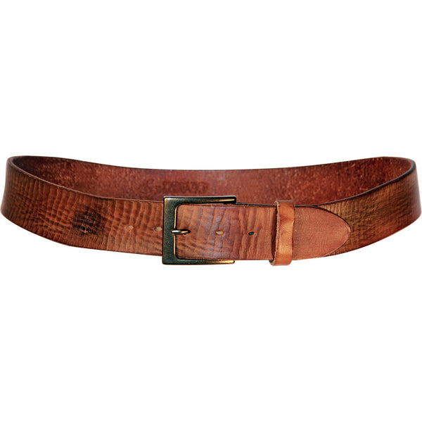 Lato Curved Leather Belt
