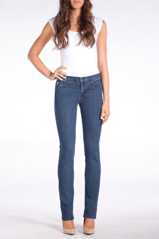 High Rise Slim Straight Yoga Jeans