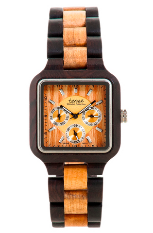 Summit Men's Wooden Watch