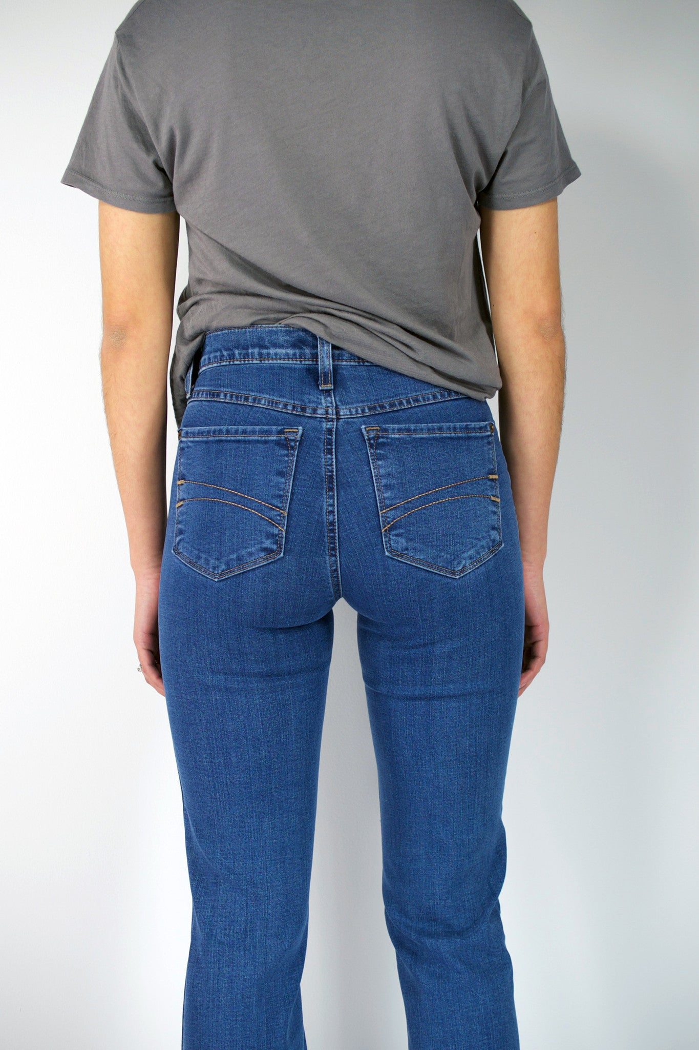 Second yoga jeans high rise boot cut
