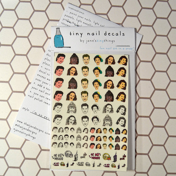 Saved by the Bell Nail Decals