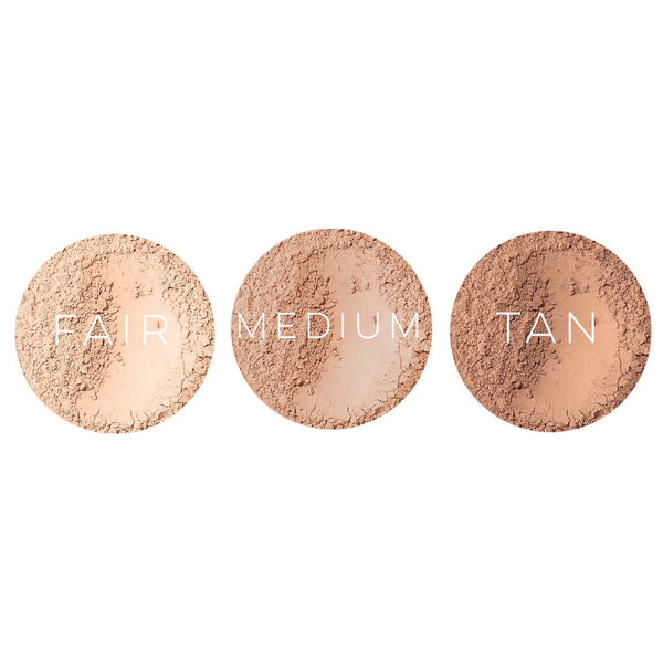 Earth Mineral Cosmetics: Matte Foundation Powder