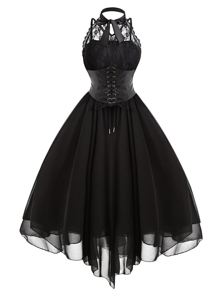 Robe Halloween Steampunk en Dentelle
