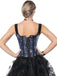 Corset Motif Dragon Steampunk