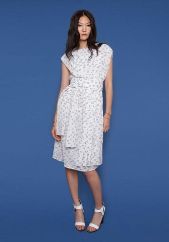 White Rhoda Dress - Wai Ming Spring 16 Collection