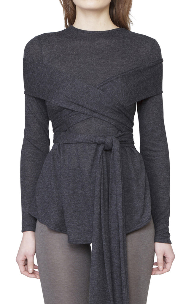 BEDFORD TOP - CHARCOAL