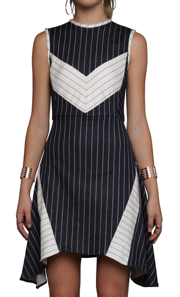Joy Stripe Mix Dress