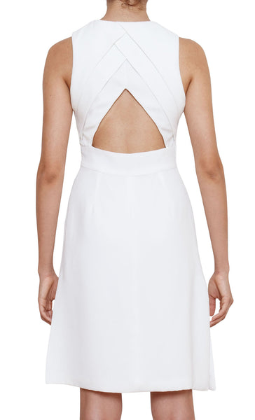 Phoebe Dress with back cutout