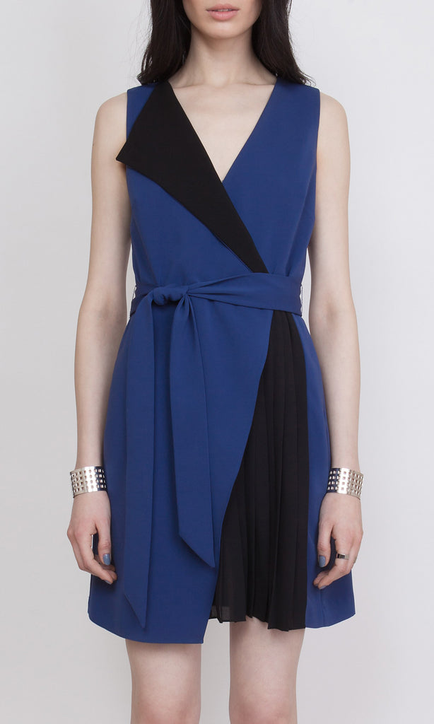 GIULIA DRESS - DUSK BLUE