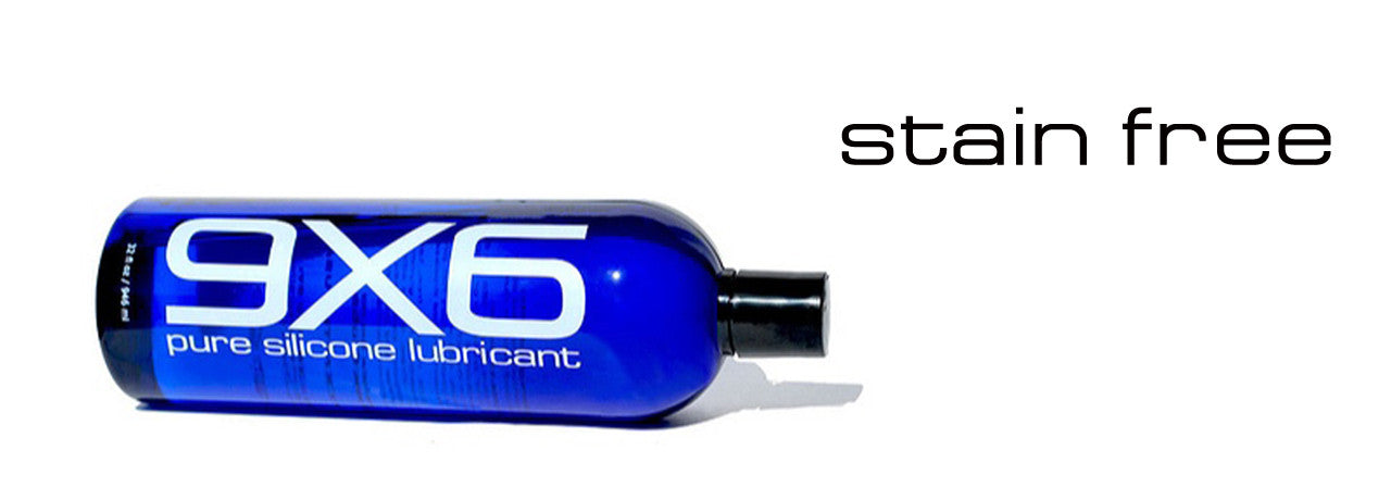 stain free, allergy free 9X6 Pure Silicone Lubricant. wherever and whenever you need slide and glide.