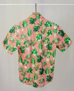Women's Rancho shirt in Plant Lady