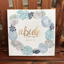 Load image into Gallery viewer, Abide - John 15:1-27, 12x12 Canvas