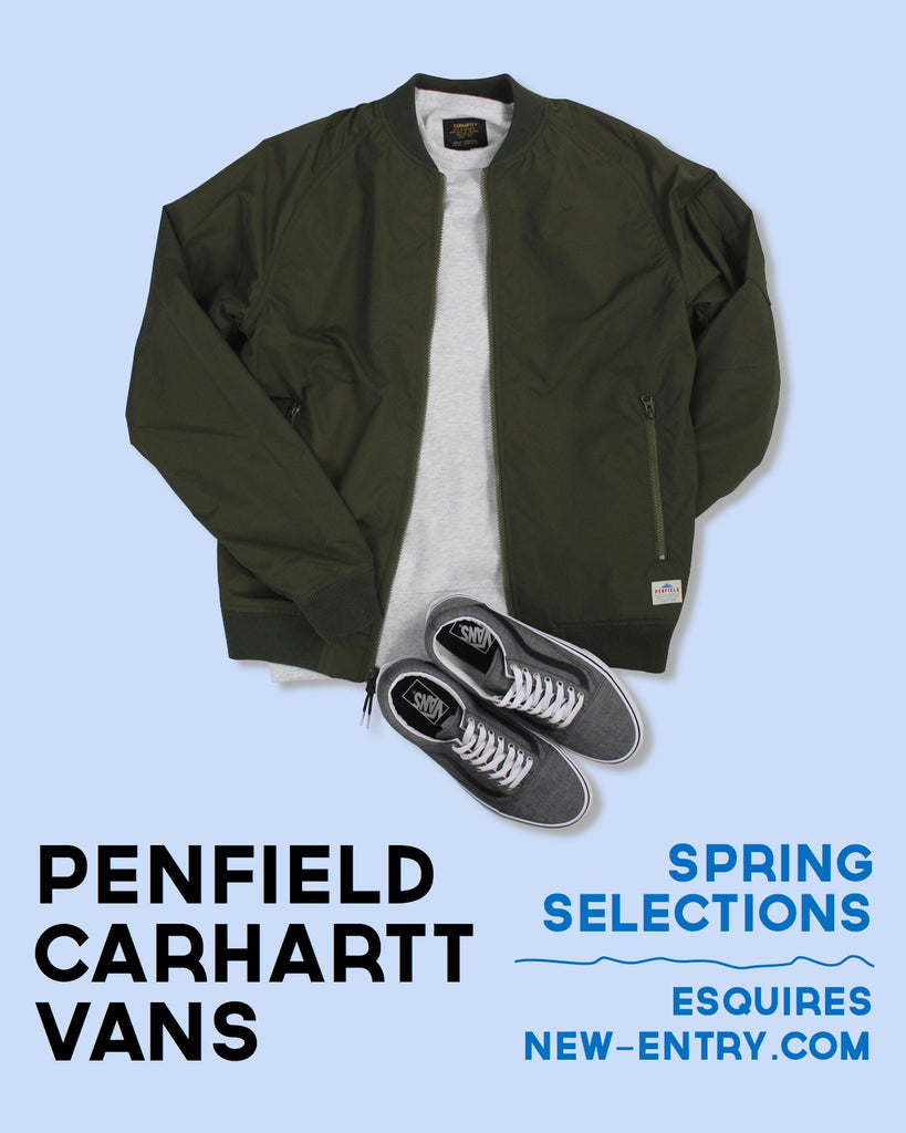Penfield, Carhartt and Vans Edits