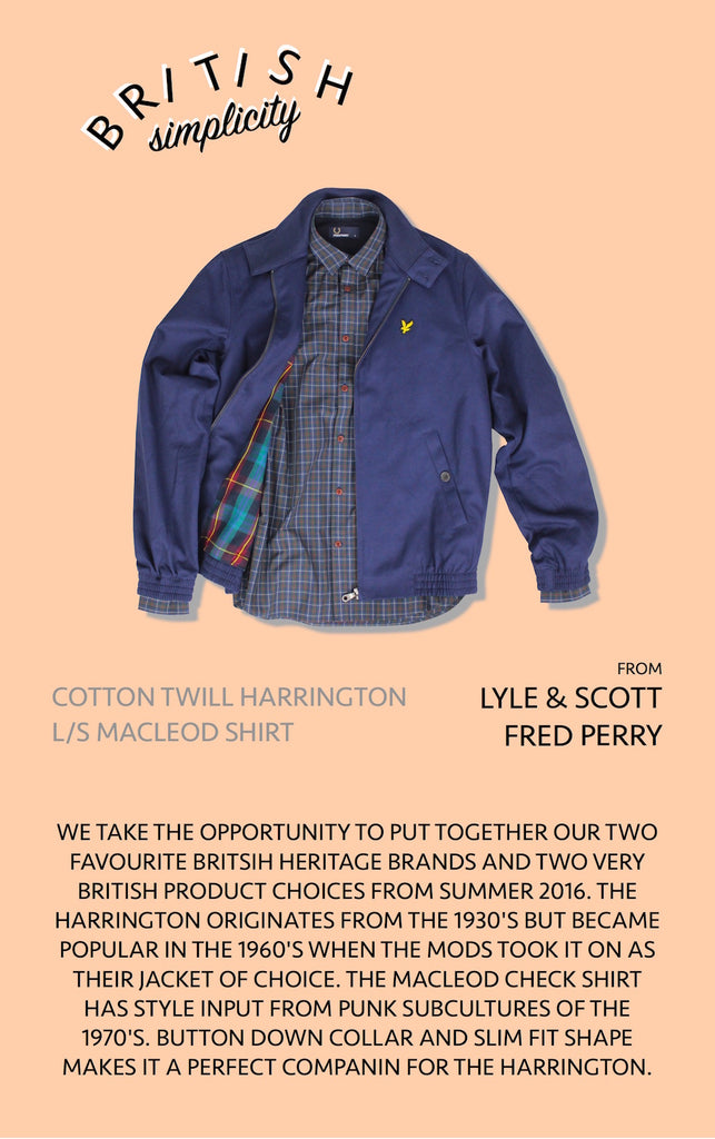 British Simplicity with Lyle and Scot x Fred Perry