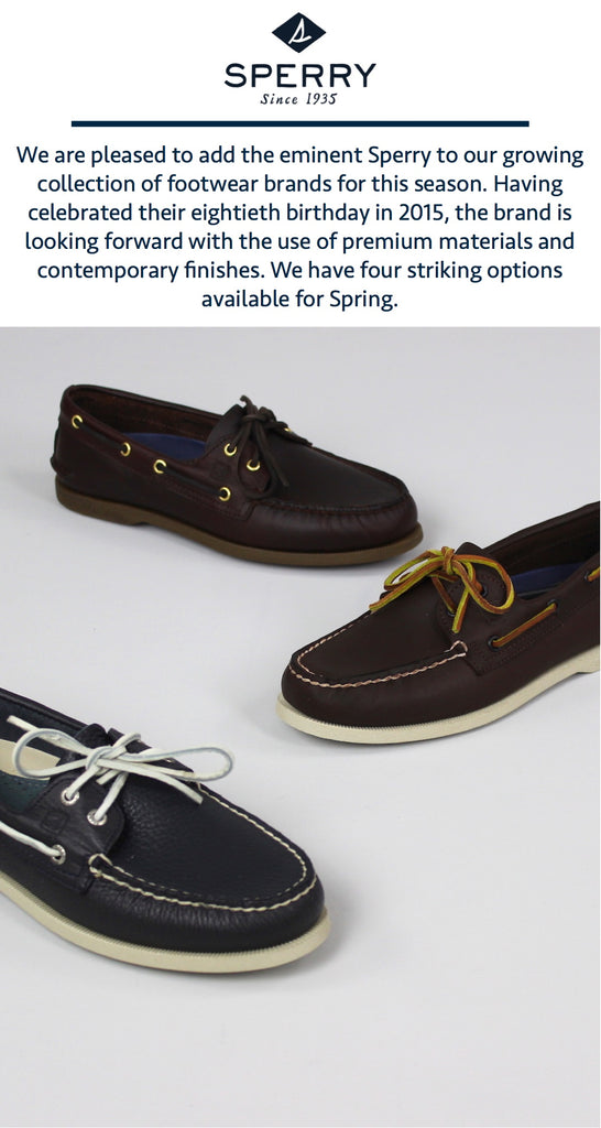 Sperry Topsider Introduction