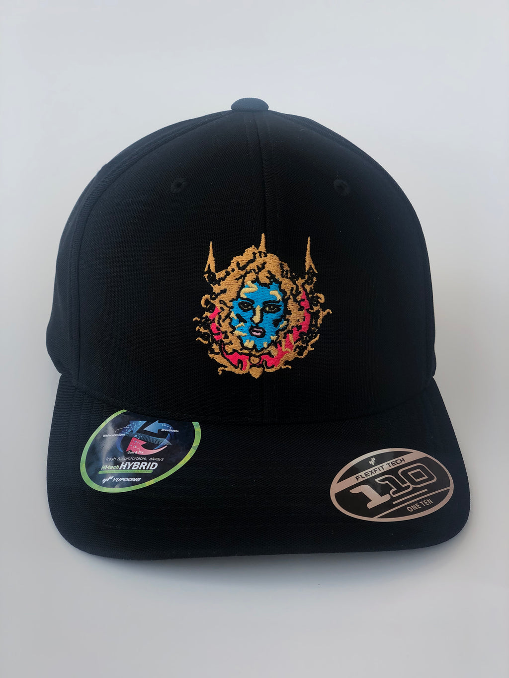 Angel in the Clouds Hat Black