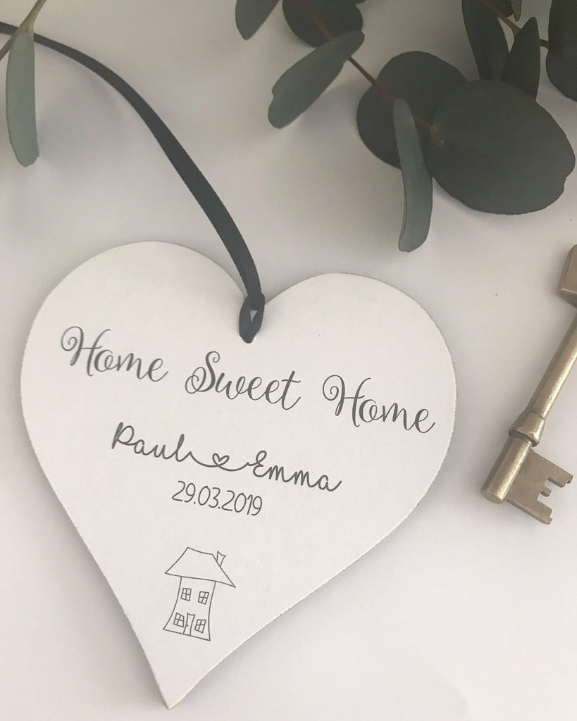 Personalised Home/Housewarming Gift Heart