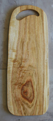 Wooden chopping and serving board - The Log