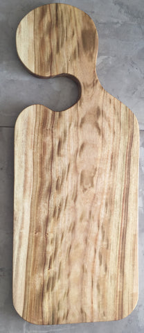 Wooden chopping and serving board - Little Boy III