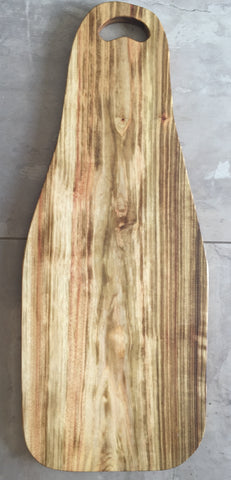 Wooden chopping and serving board - Fat Lady IV