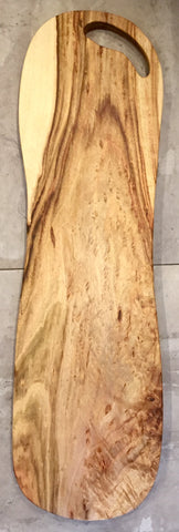 Huge wooden serving platter - Tall Boy II